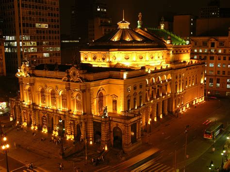 Municipal Theater in Sao Paulo, Brazil