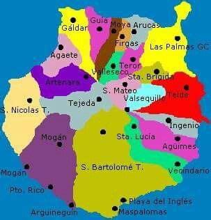 MUNICIPIOS DE GRAN CANARIA | Islas canarias, Islas ...