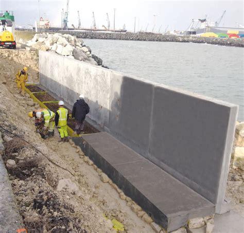 Mur de soutènement en béton armé   LG BETON   modulaire ...
