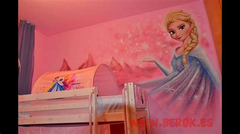 Murales habitación para niña en Barcelona   YouTube