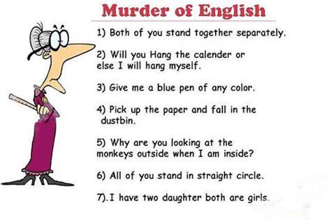 Murder of English | Short English & telugu Jokes | English ...