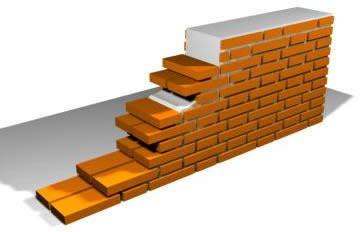 Muro a tizon en AutoCAD | Descargar CAD  28.31 KB  | Bibliocad