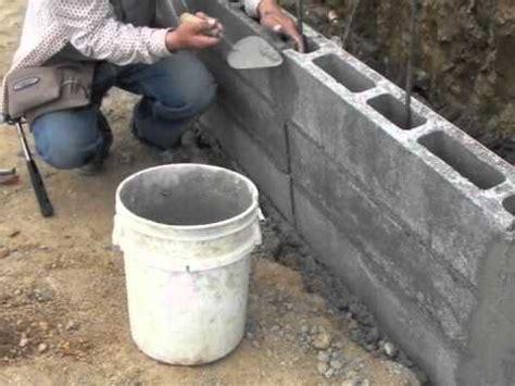 Muro de contención con Masterblock   YouTube