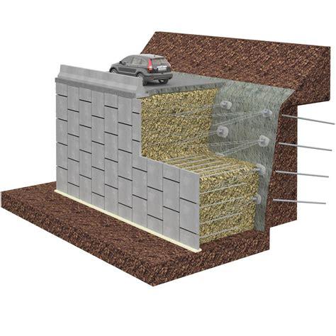 Muro de contención de hormigón / de en Tierra Armada ...