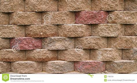 Muro De Contención Del Bloque Foto de archivo   Imagen de ...