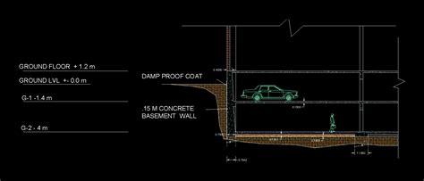 Muro de contención en AutoCAD   Descargar CAD gratis  65 ...