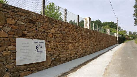Muro De Contención En Piedra Silleda Construcciones ...