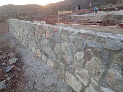 Muro de contencion en piedra tipo A | Muros