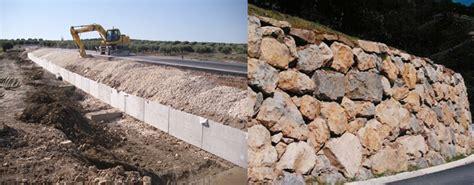 Muro De Módulo De Contención VS Muro De Escollera Colocada ...
