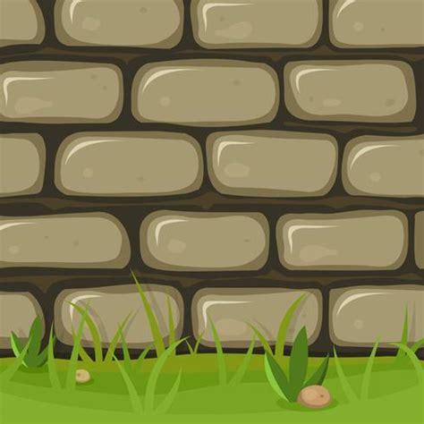 Muro de piedra rural de dibujos animados   Descargar ...