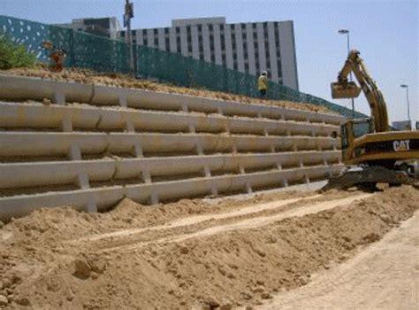 Muro de tierra armada   EcuRed