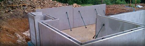 Muro doble prefabricado de hormigón armado   BASEMENTS ...