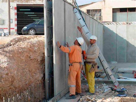 Muro doble prefabricado   Prefabricados Agustín   Huesca