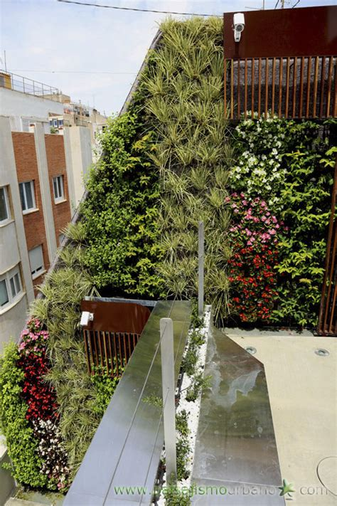 Muro vegetal de plantas naturales   PRIVATE PENTHOUSE ...