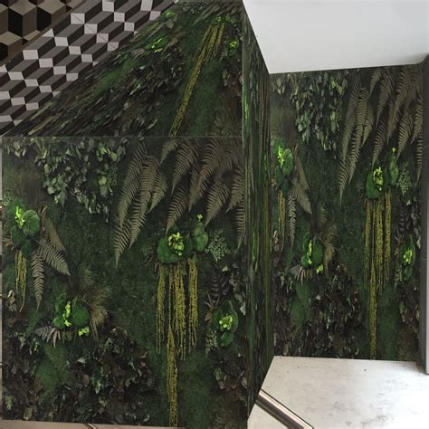 Muro vegetal estabilizado   PYT Audio   de plantas ...