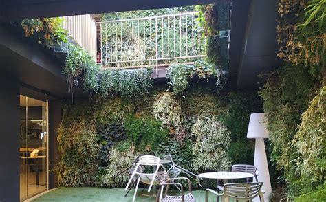 Muro vegetal Olot   Vivers Ter