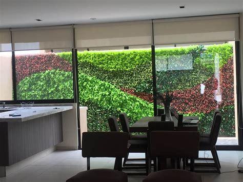 Muro verde artificial arquitectura orgánica viviana font ...