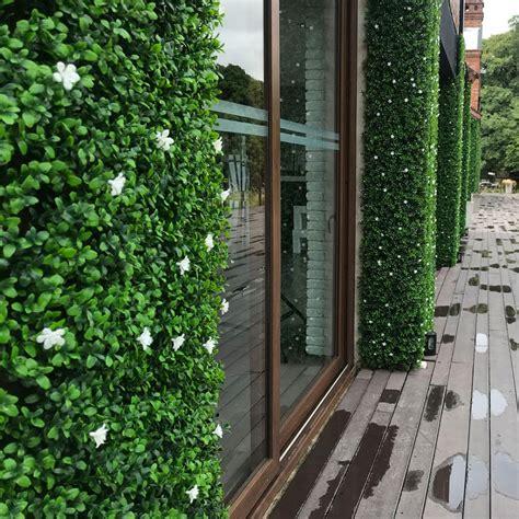 Muro Verde Artificial Follaje Jazmin   Pasto Sintetico ...
