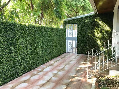 Muro verde artificial que embellecen   Sintetico