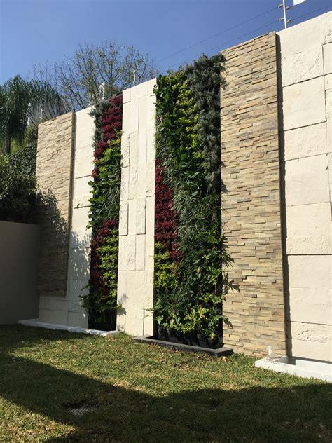 Muro verde Jardin vertical Green wall | Fachada verde ...