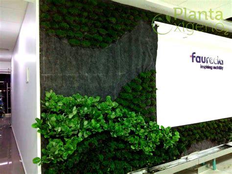 Muro Verde natural, proyecto Faurecia Querétaro, Qro ...