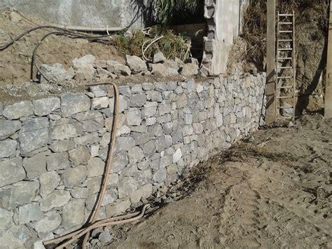 Muros de contención en piedra cara vista. ~ CONSTRUCCIONES ...