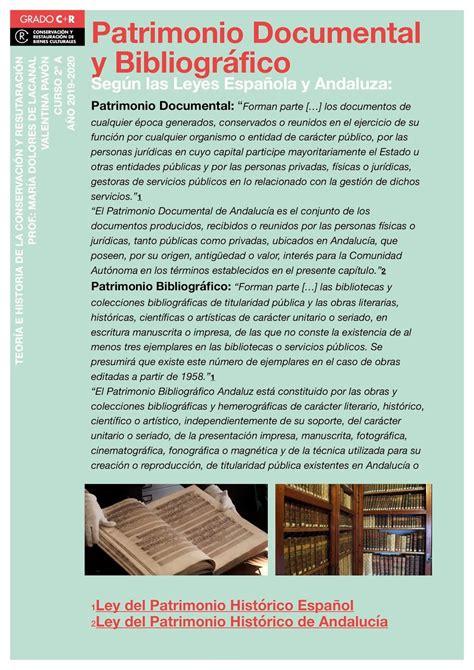 Museo de Consevación y Restauración: POSTER PATRIMONIO ...