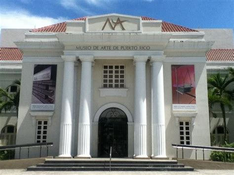 Museum of Art In Puerto Rico Front Entrance   Picture of ...