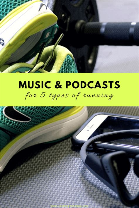 Music and Podcasts for 5 Types of Running and Training