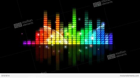 Music Background Graphic Equaliser Motion Visual Effect ...