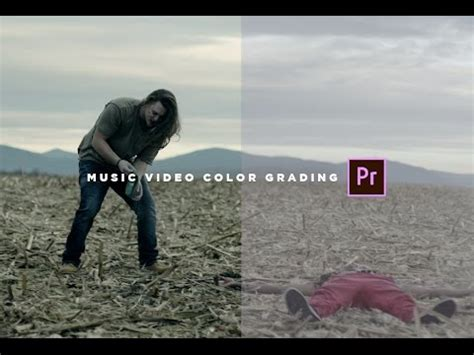 Music Video Color Grading + FREE LUT  Adobe Premiere ...