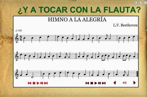 Música en Los Arenales: FLAUTA:  Himno a la alegría ...