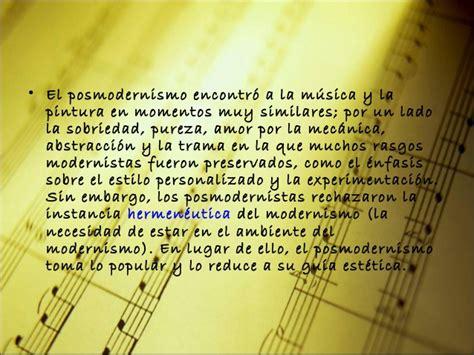 Musica siglo xx