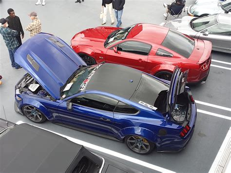 Mustang Madness At The Carroll Shelby Birthday Cruise In