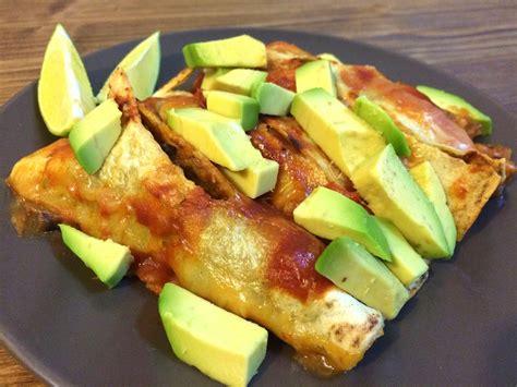 Mute Food: Enchiladas de soja texturizada  preparación: 30 ...