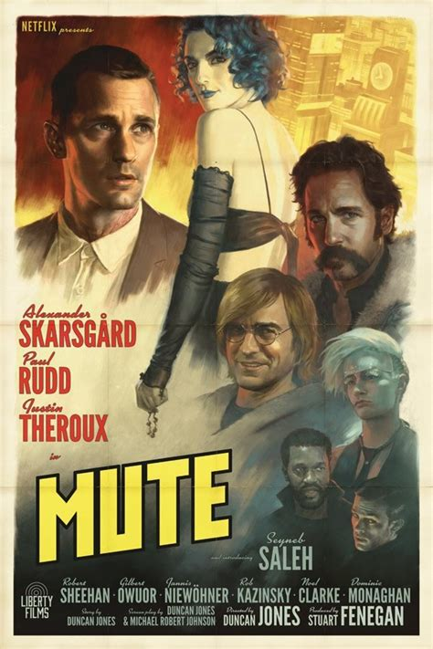 Mute Movie Poster : Teaser Trailer