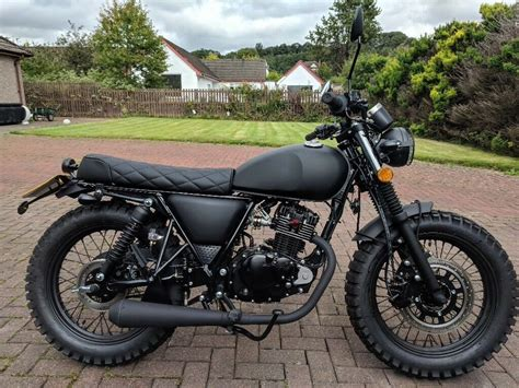 Mutt Fat Sabbath 125cc cafe racer tracker scrambler custom ...