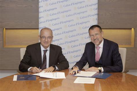 Mútua General de Catalunya i Caixa d'Enginyers signen un ...