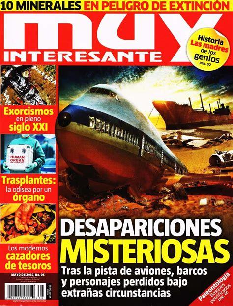 Muy Interesante   Desapariciones Misteriosas, Trasplantes ...