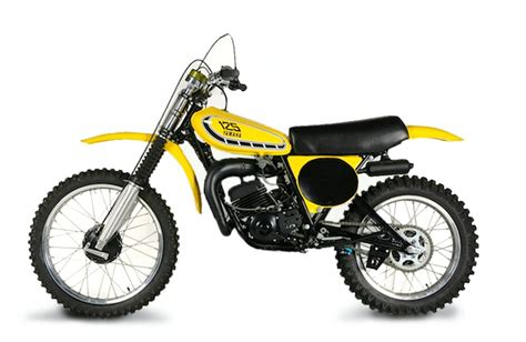 My 1st new motorcycle, 1976 YZ125 with dual chamber air ...