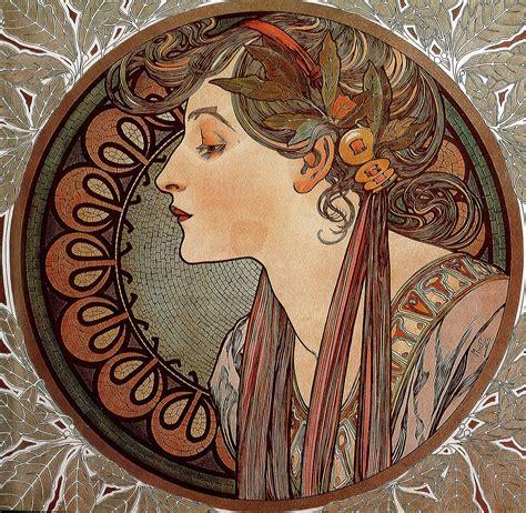My best on Google plus: Art Nouveau by Alfons Mucha
