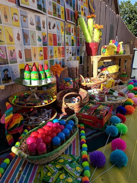 My Candy Table #CraftyMa #Mexican #partyideas # ...