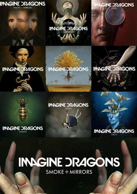 my collage in anticipation of Imagine Dragons  upcoming ...