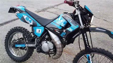My Custom Adidas Yamaha DT 125 RE 170cc Athena with Custom ...