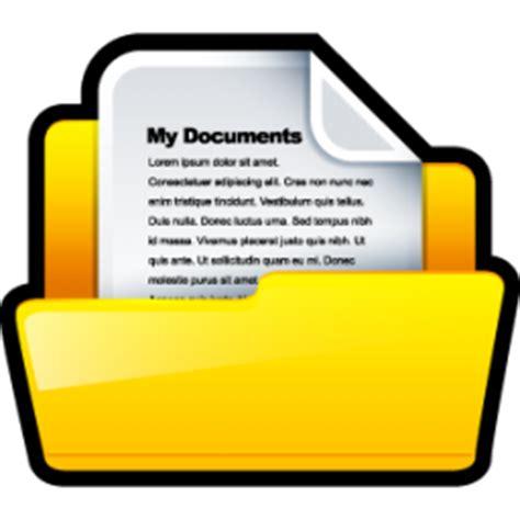 My Documents Icon   Sleek XP Folders Icons   SoftIcons.com