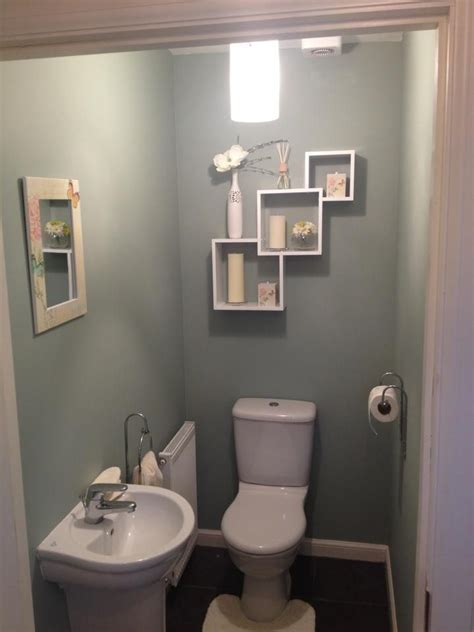 My downstairs toilet. Took some effort but we got there ...