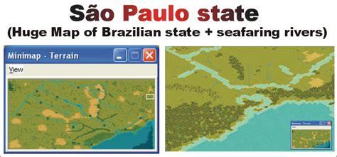 My first map: São Paulo state  Brazil    CivFanatics Forums