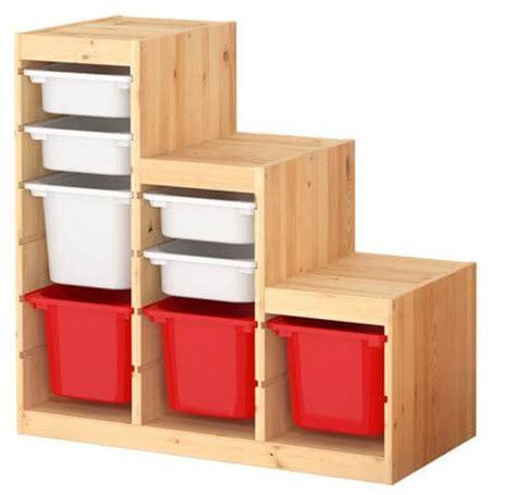 My Ikea hack: Work bench made from Ikea Trofast storage ...