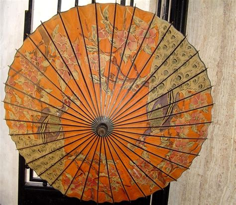 My Japanese paper umbrella – Wagasa   Rubell s Antiques
