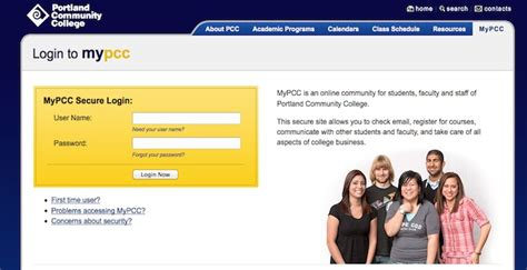 My PCC Login   PCC.edu   Portland College Online
